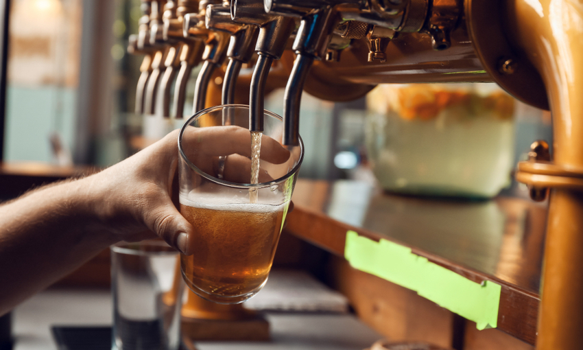 spillatura birra bar