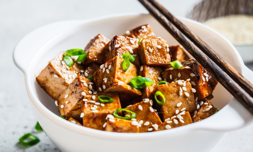 Tofu saltato in salsa teriyaki