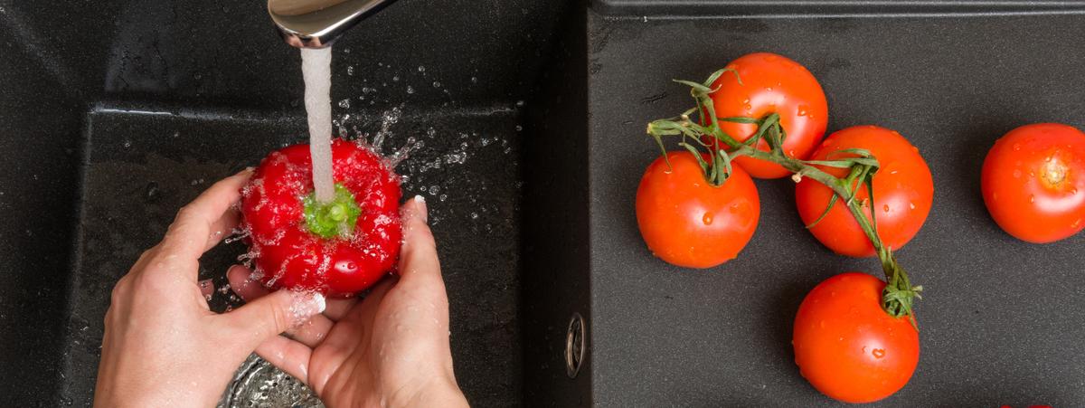 lavare verdure con bicarbonato
