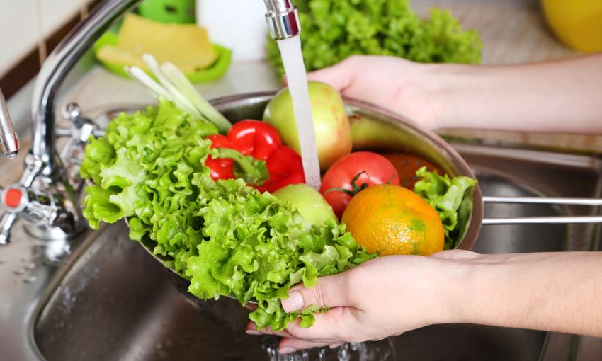 lavare verdure passaggi
