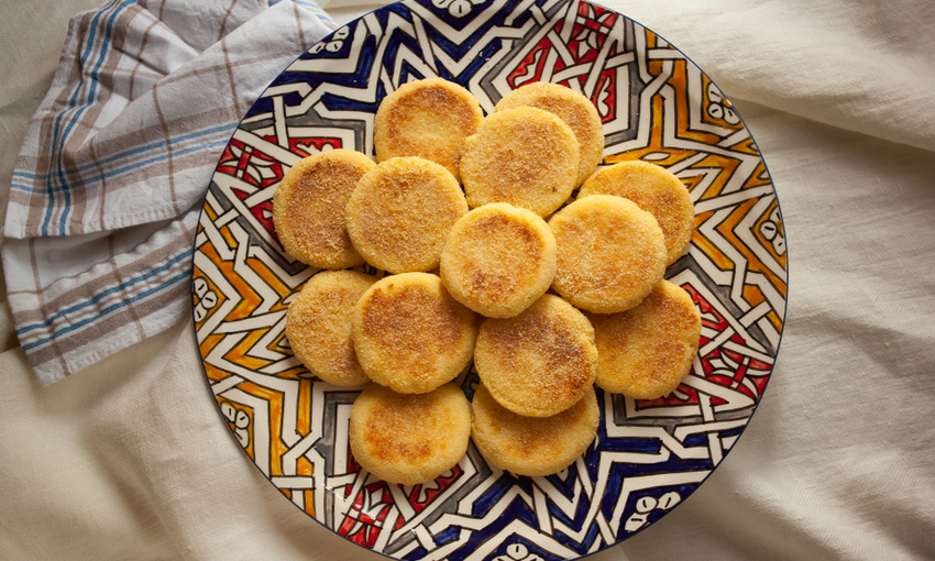 pancakes semolino