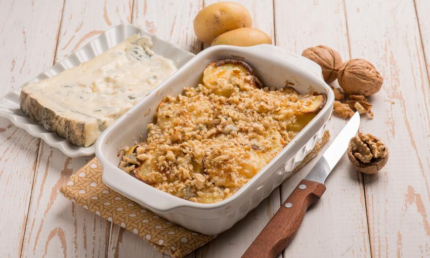 patate gorgonzola