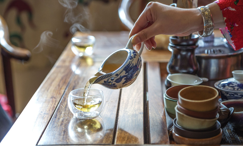 tè cinese rito