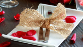 tavola san valentino