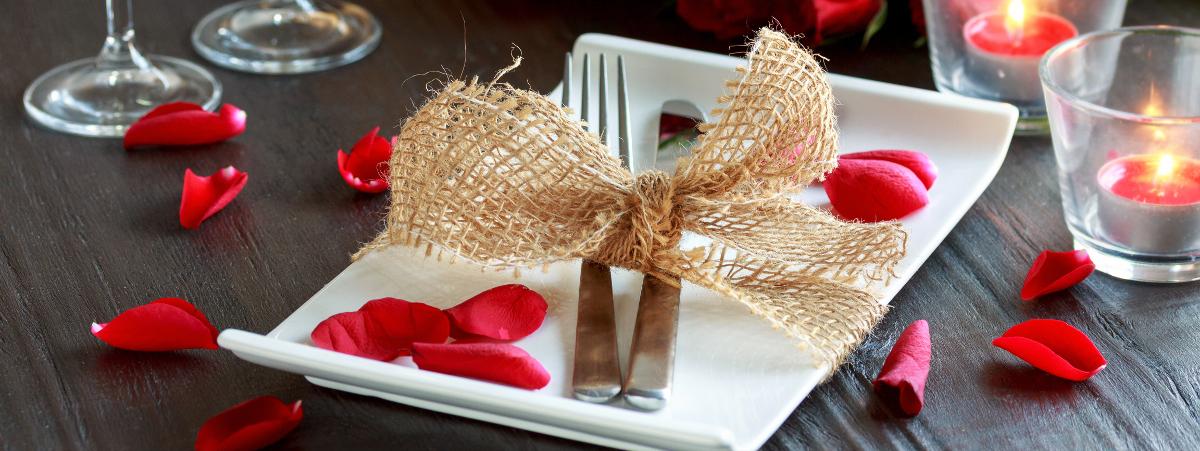 San Valentino: le migliori idee da Pinterest per decorare la tavola