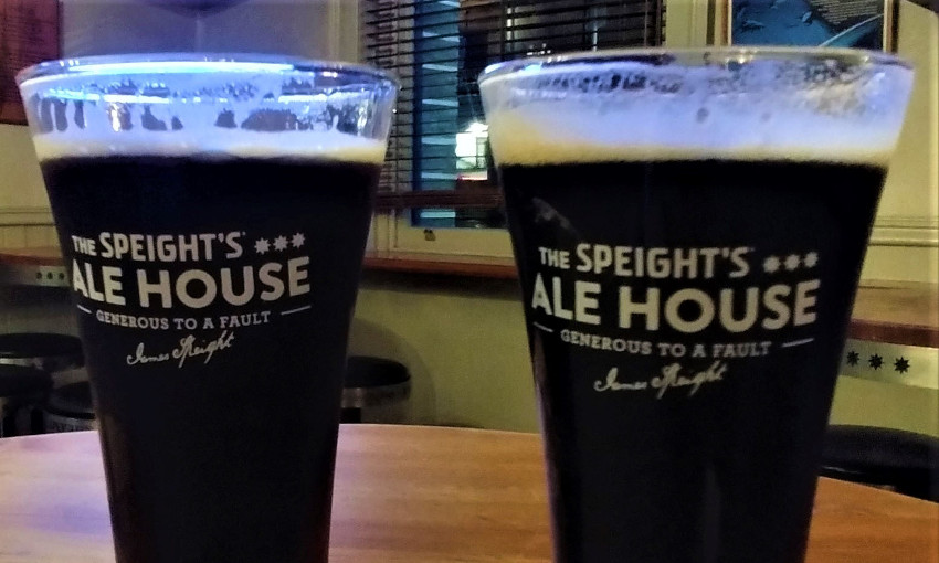 the speight's ale beer