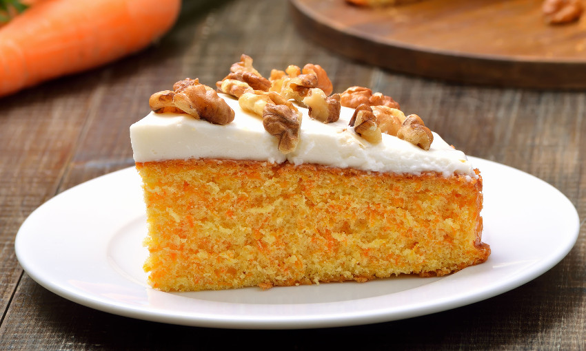 torta carote noci