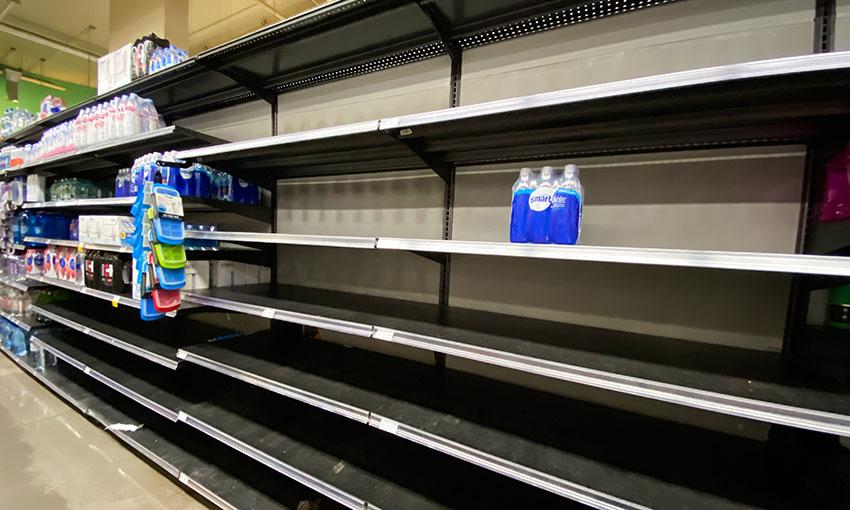 coronavirus supermercato