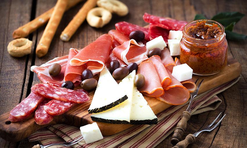 formaggi aperitivo