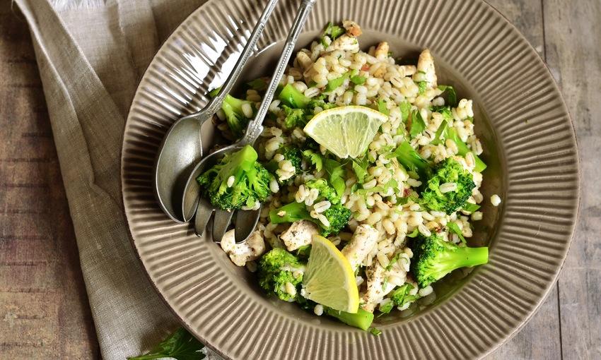 orzo e broccoli