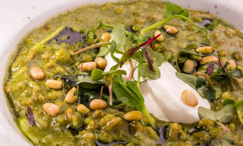 orzotto asparagi