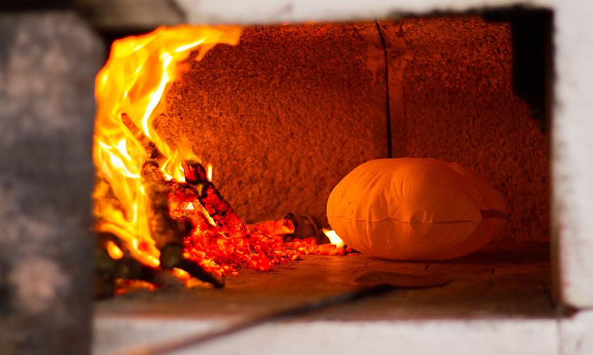 Pane carasau in forno