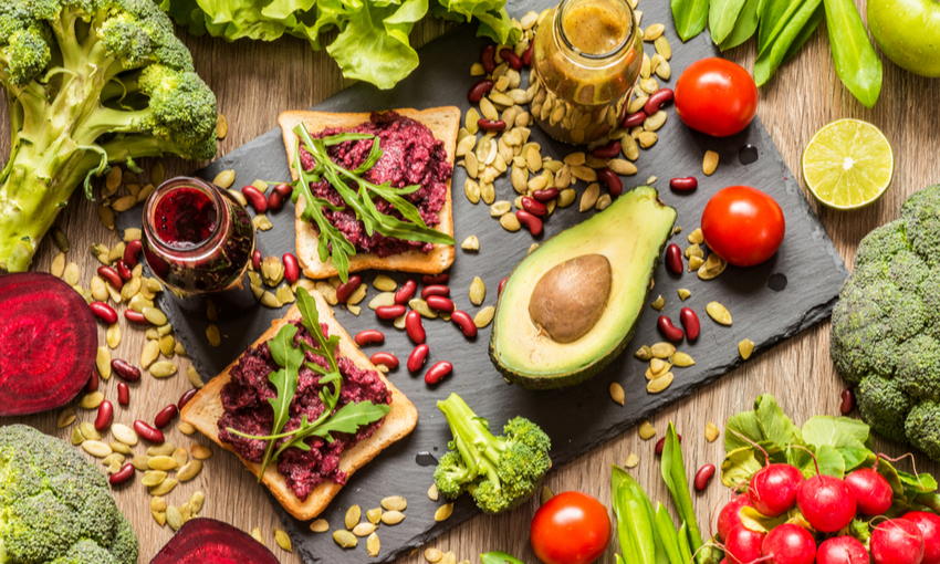 alimentazione vegana