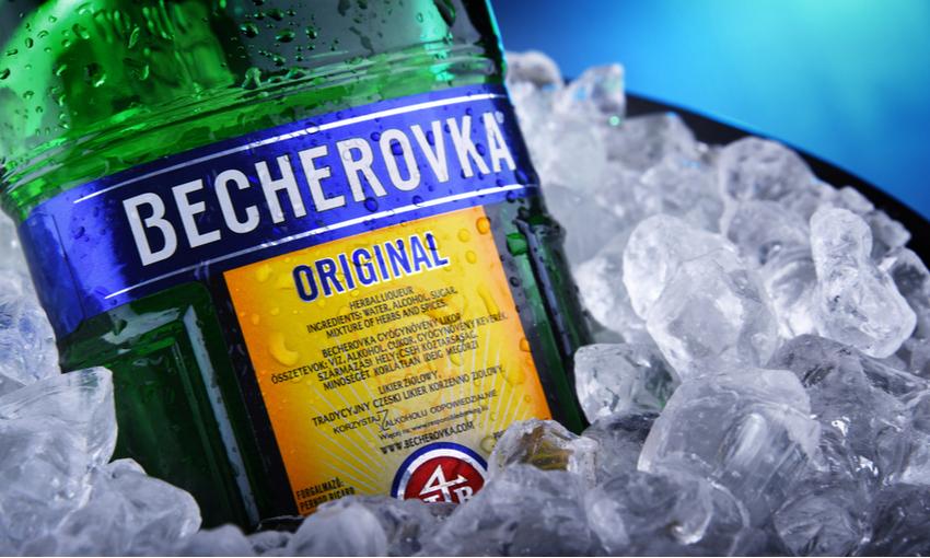 Becherovka liquore