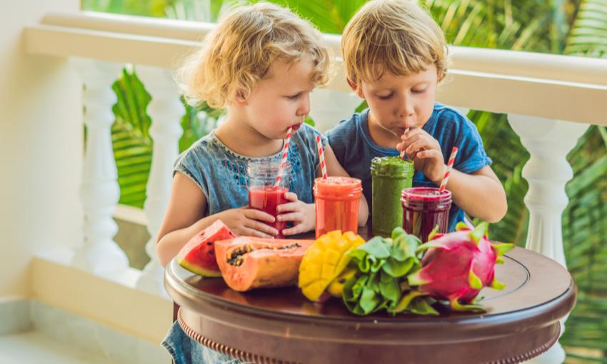 Diete liquide alimentazione bambini