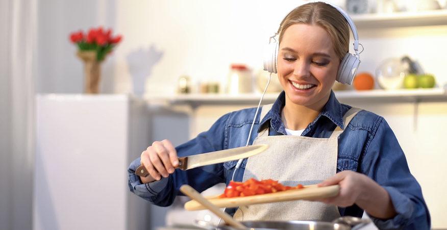 podcast sul cibo