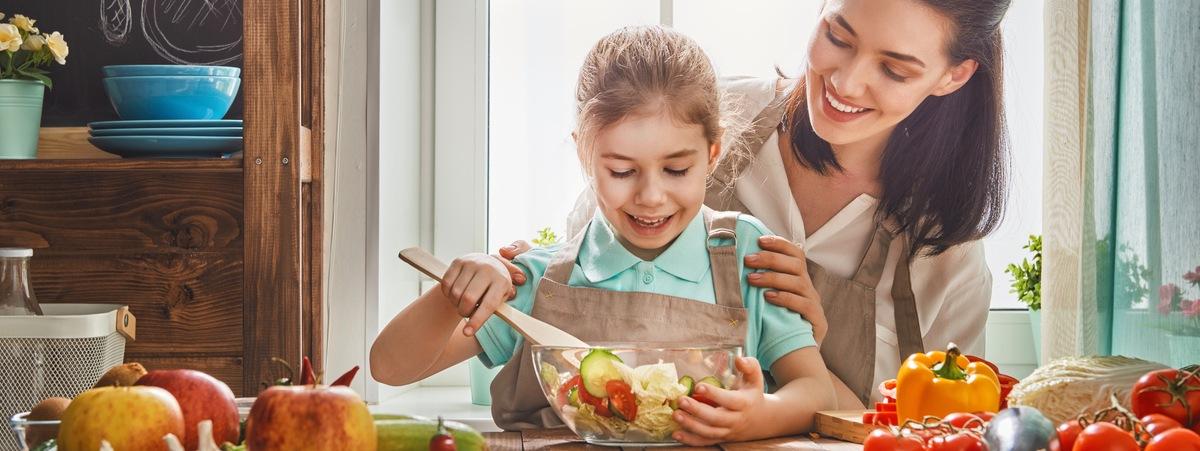 Ricette vegane da preparare con i bambini
