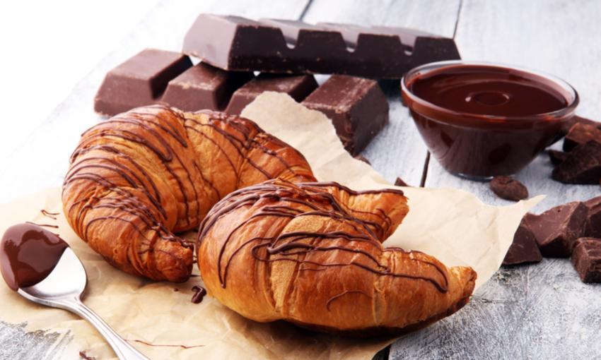 Cornetti al cioccolato