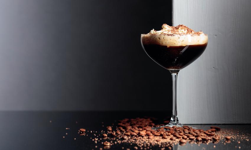Crema di caffè con cioccolato
