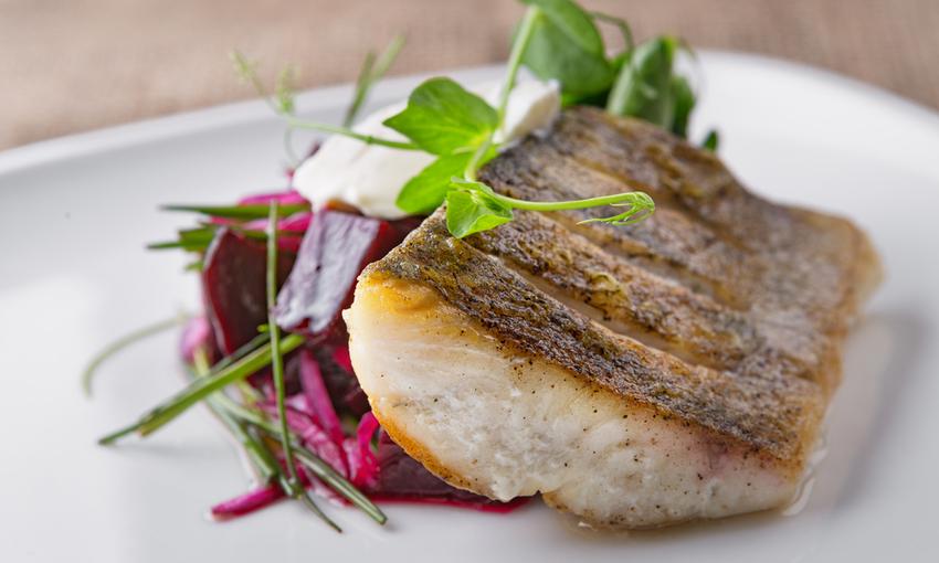 pesce di lago piatto