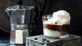 affogato al caffe