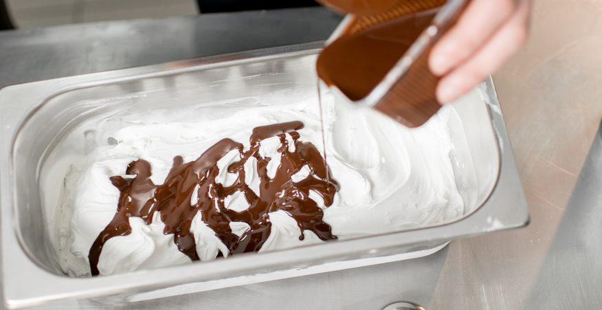 gelato artigianale e industriale