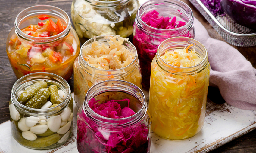 Lattofermentazione verdure