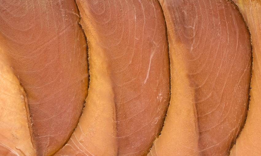 Prosciutto tonno affumicato