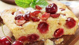 Torte senza burro con frutta estiva