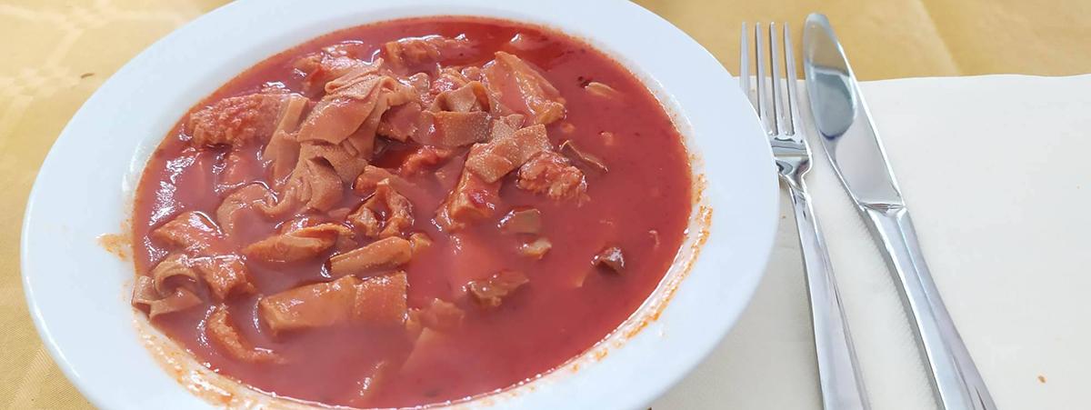 Morzello catanzarese zuppa