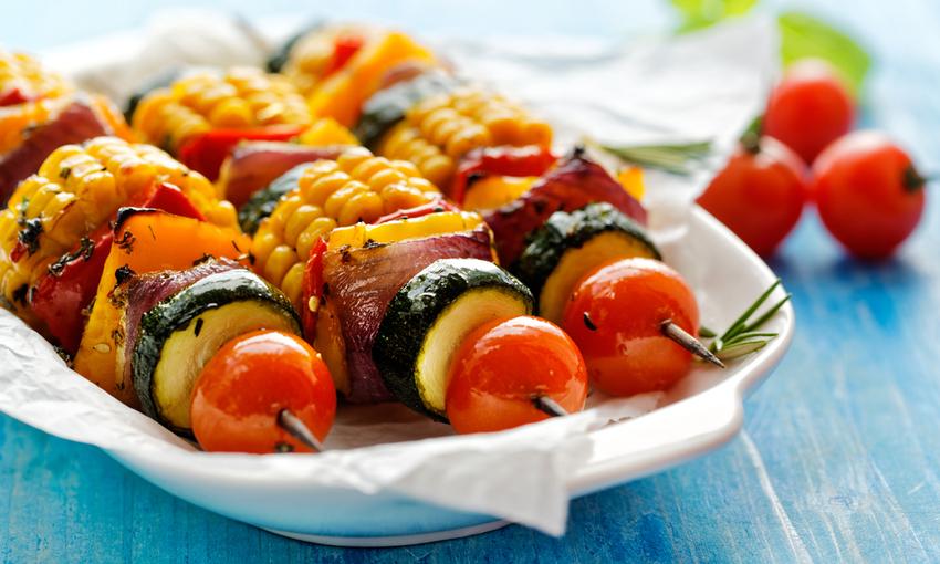 Spiedini di verdure