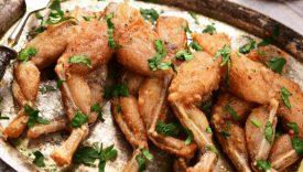 carne di rana