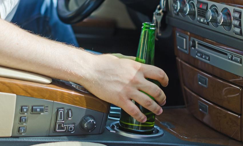 alcolici in macchina