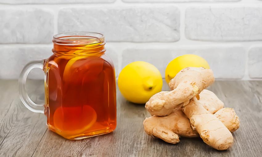 Tè limone e zenzero