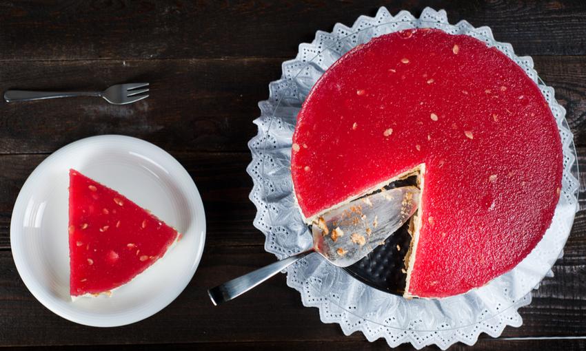 torta fredda all'anguria