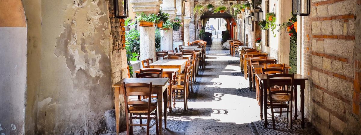 ristoranti all'aperto verona