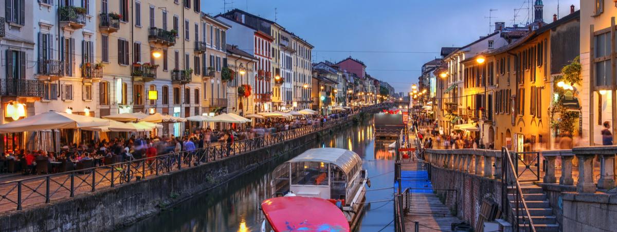 Ristoranti all'aperto a Milano Navigli
