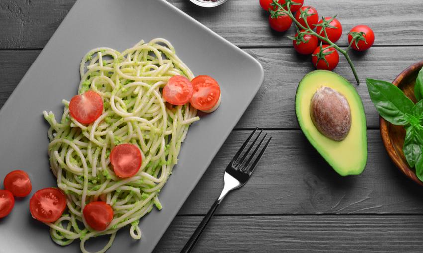 spaghetti-avocado