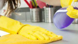 Disinfettare cucina