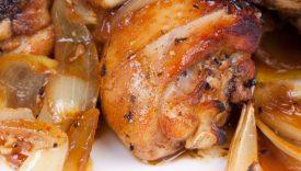 pollo alla cacciatora cipolle