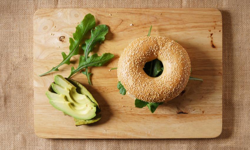 bagel salati vegan