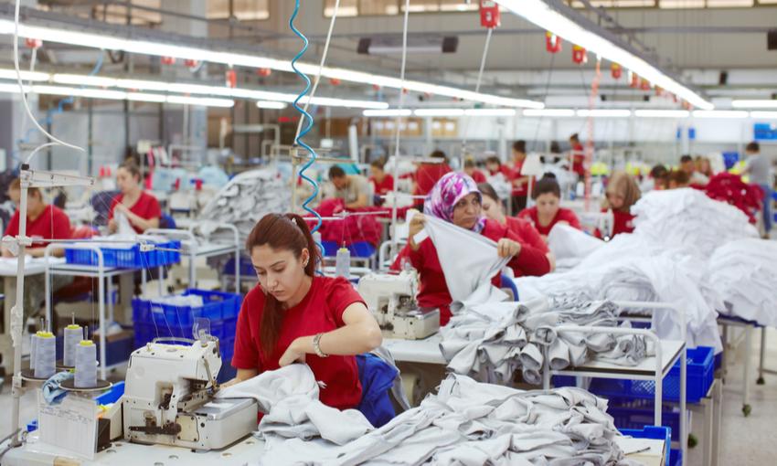 sfruttamento settore tessile