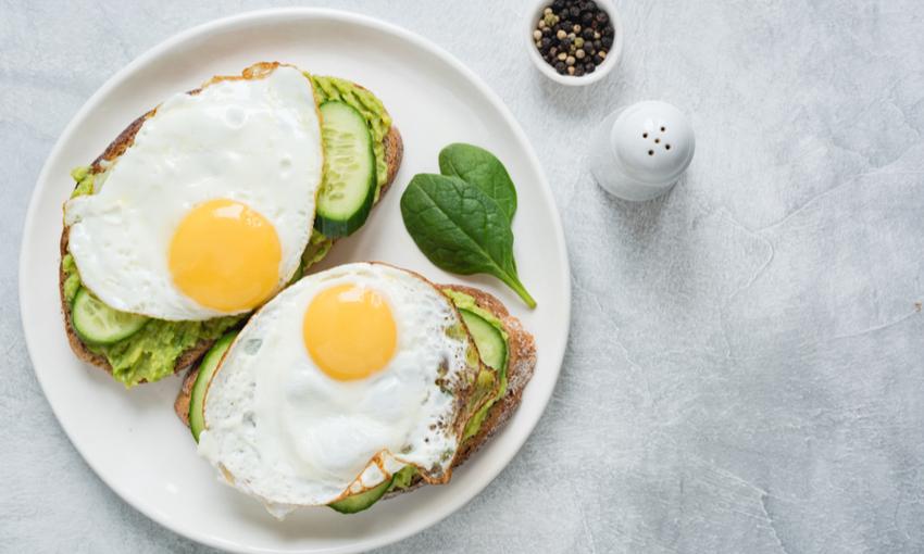 uovo al tegamino vegano