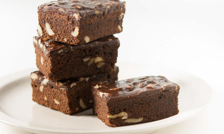 brownies con torrone