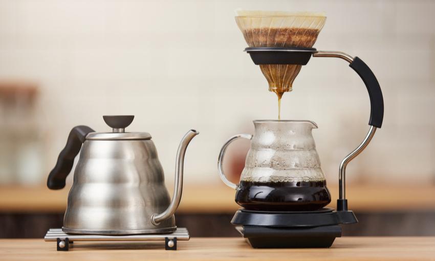 caffè filtro procedimento