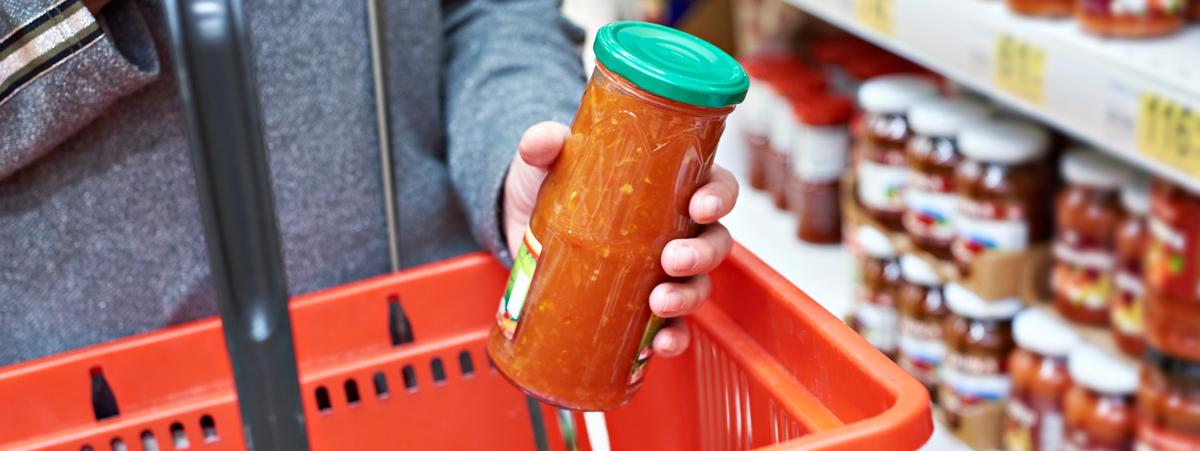 contenitori in vetro per alimenti
