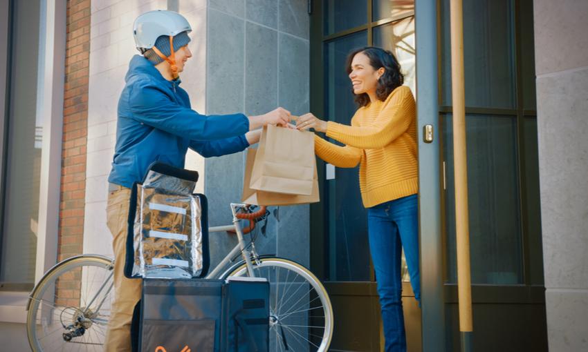 food delivery mobilità sostenibile