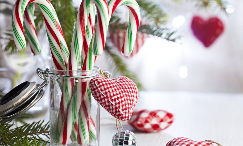 candy canes decoration