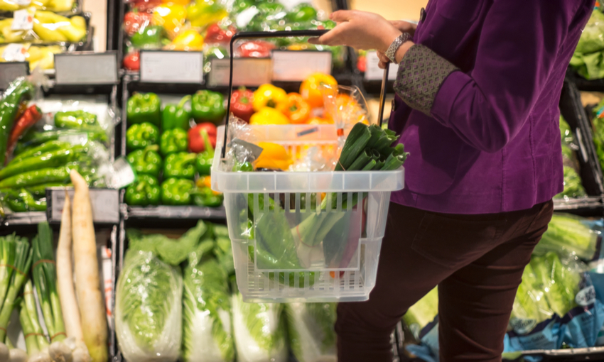 spesa settimana verdure