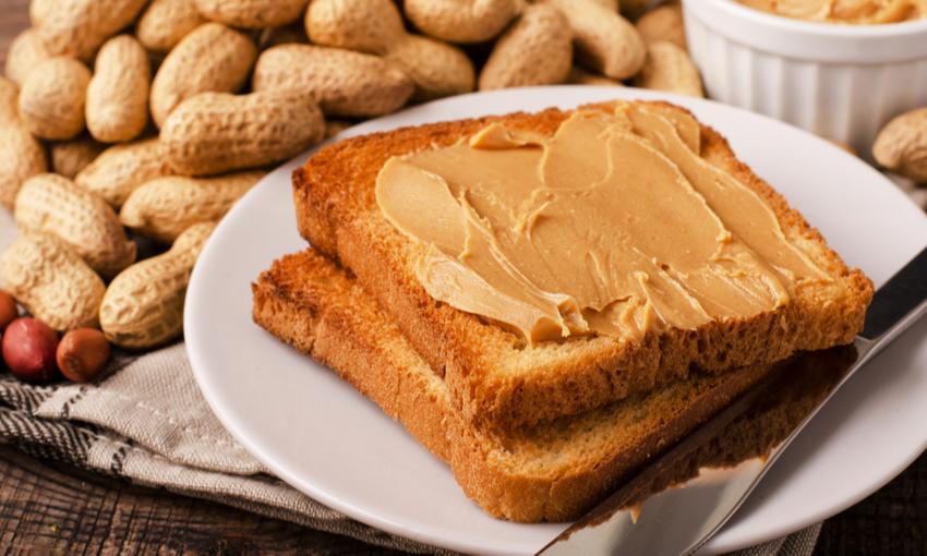 burro di arachidi come mangiarlo